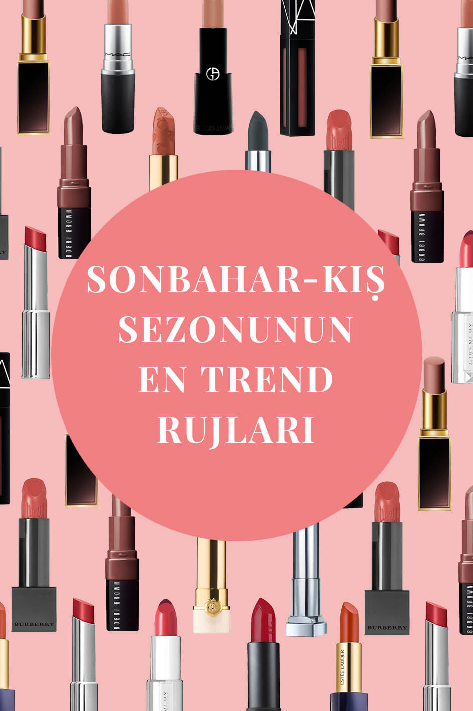 The best Lipsticks you can use all autumn long!
